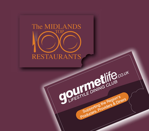 Gourmet Life Top 100 Midlands Restaurants