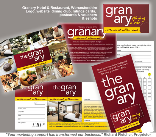 Granary Hotel and Restauarnt Worcestershire