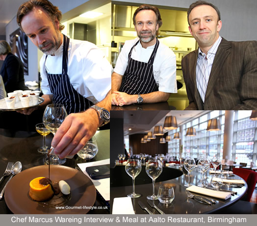 Marcus Wareing Interview & Private Dining Aalto Restaurant, Birmingham
