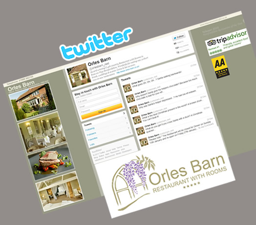Orles Barn Restuarant with Rooms Twitter