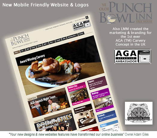 Punch Bowl AGA Carvery Website my LMM