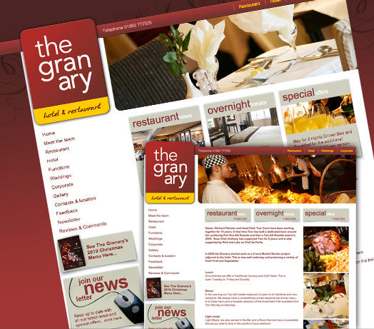Granary Hotel & Restaurant, Wocestershire