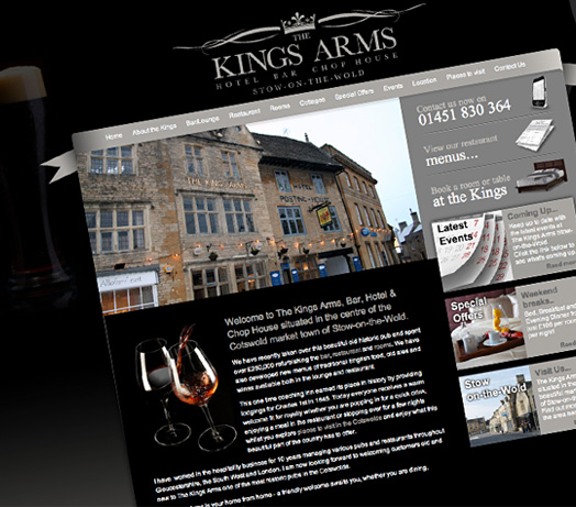 King Arms, Stow on the Wold, Cotswolds